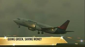 Video : Shorter routes make air traffic go green
