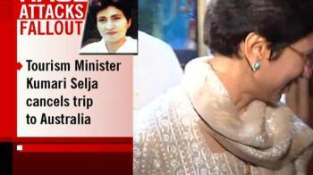 Video : Kumari Selja cancels trip to Australia