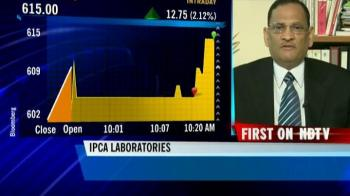 Video : Ipca Labs Q1 nos in line with expectations: AK Jain
