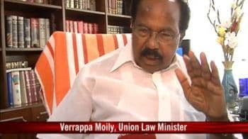 Video : Need to rethink on homosexuality law: Moily