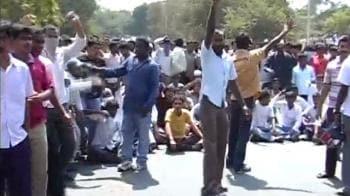 Video : Telangana clash at Osmania University