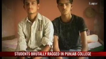 Video : Students brutally ragged in Punjab college