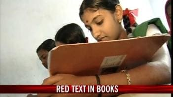 Video : Red text in books