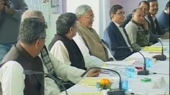 Video : Nitish's cabinet meeting with a difference