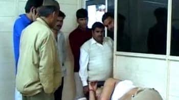 Video : Noida: Car runs down people on footpath, 3 killed