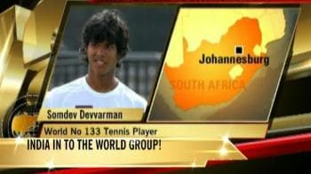 Video : India advance to Davis Cup World Group