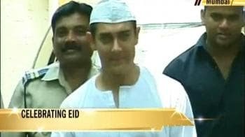 Video : Aamir says Eid Mubarak