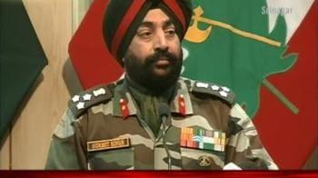 Video : Pak terrorists caught in Gurez
