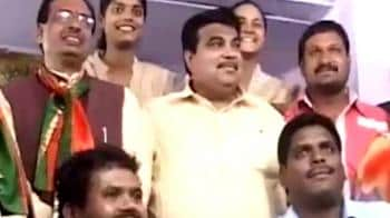Video : Gadkari sets off on BJP's course correction