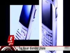 Tag Heuer's diamond phone