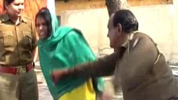 Video : Dalit woman beaten up at police station in UP