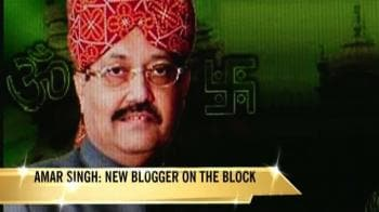 Video : Amar Singh pulls no punches on his blog