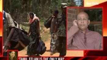 Video : Congress slams Jaya's Eelam statement