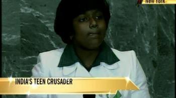 Video : India's teen crusader