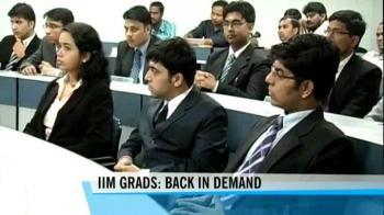 Video : IIM-B placements dispel fears of bleak job scenario