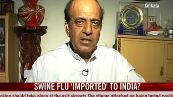 Video : Swine flu 'imported' to India