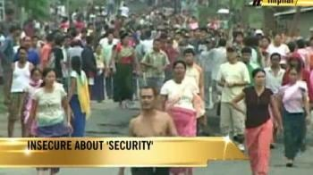 Video : Manipur: Insecure about 'security'