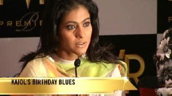 Video : Kajol gets an Audi on her birthday