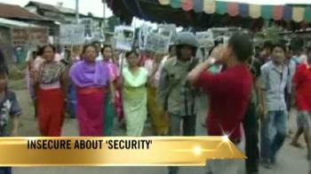 Video : Indefinite curfew imposed in Imphal