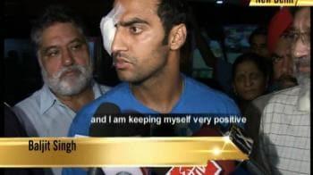 Video : Baljit Singh leaves for US