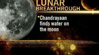 Video : Chandrayaan discovers water on moon