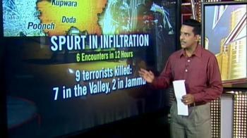 Video : Spurt in infiltration in J&K