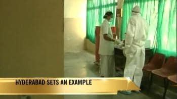 Video : Swine flu: Hyderabad sets an example