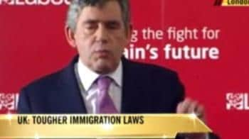 Video : Britain to tighten immigration policy: Brown