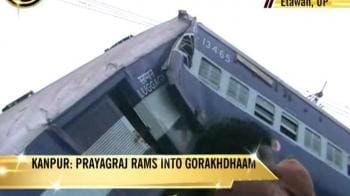 Video : Fog fallout: Trains collide in UP