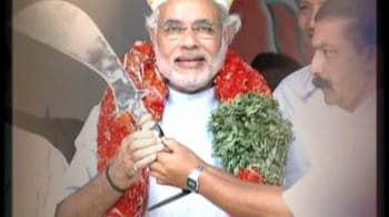 Videos : Modi slams Cong over riot probe orders