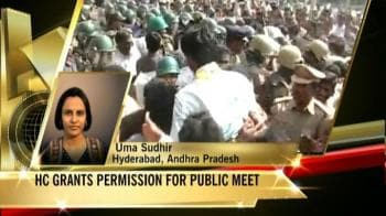 Video : Court allows pro-Telangana rally, security up