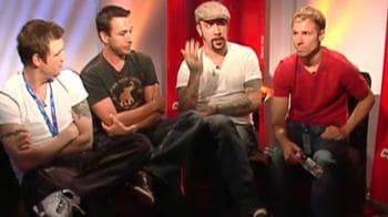 Video : Up close and personal with Backstreet Boys