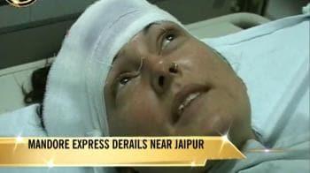 Video : Jaipur train mishap: Survivor's account