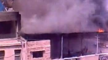 Video : User video of Bangalore fire