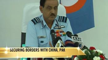 Video : Air Force's message to China: Alert, gearing up