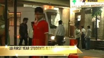 Video : Freshers allege ragging at Mumbai's premier institute
