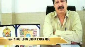 Video : Mumbai cops who 'danced to don's tunes' suspended