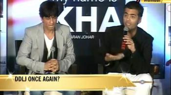 Video : SRK, Kajol back together