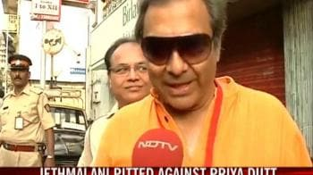 Video : Mahesh Jethmalani casts his vote