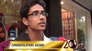 Video : To Sachin on his 20th anniversary