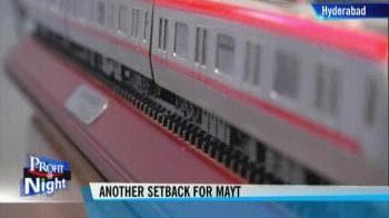 Video : Maytas misses Hyderabad metro