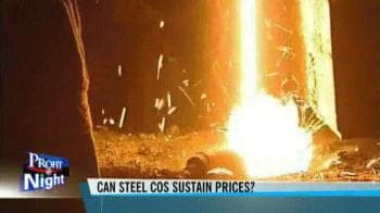 Video : Can steel companies sustain prices?