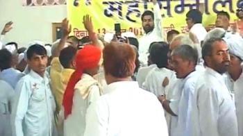 Video : Haryana: Khap panchayats meet, stay defiant