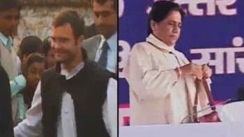 Video : Rahul challenges Mayawati on home turf