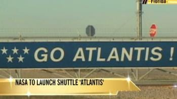 Video : NASA ready for Atlantis launch