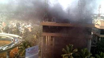 Video : Bangalore fire doused, 9 dead
