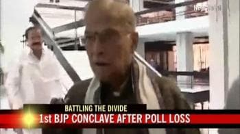 Video : M M Joshi on the crisis within BJP