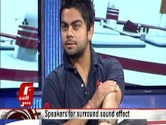 Virat Kohli on the Sony W995