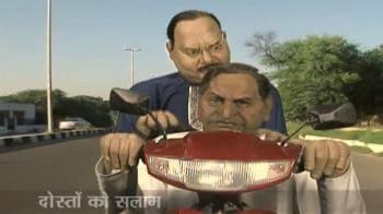 Videos : SP's video on Kalyan Singh