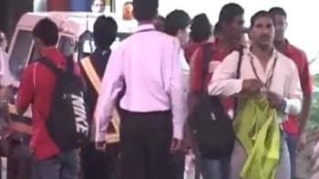 Video : Footballers held on molestation charges